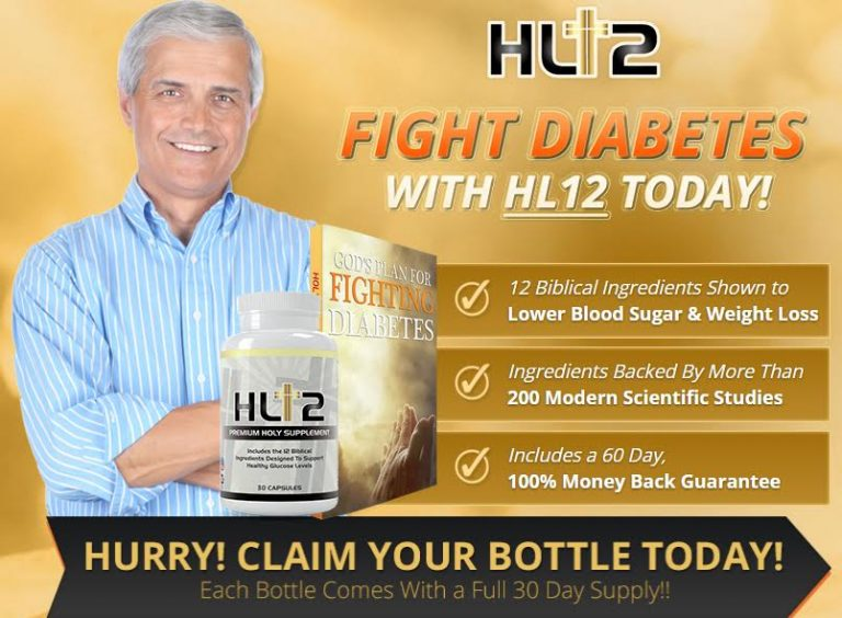 HL12 SCAM Reviews Holy Land Nutrition HL12 Ingredients Fight Diabetes