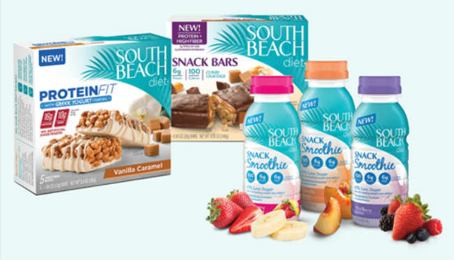 South Beach Diet Delivery Food