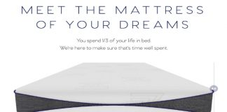 Sleep Azza Memory Foam Mattress – New, Innovative High Density Memory
