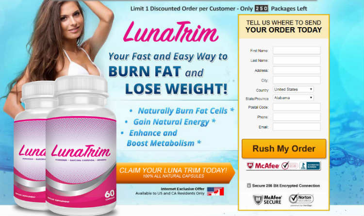 Luna Trim Reviews – Effective Weight Loss Pills, Does it Work? Any Side Effects
