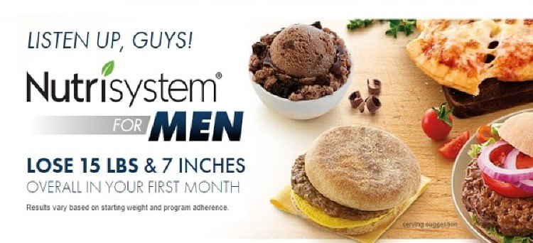 nutrisystem for men price